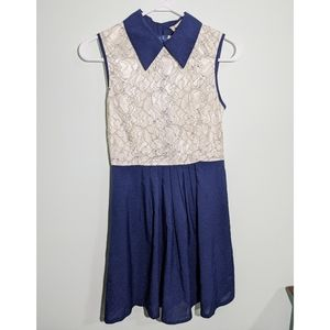 Yumi Sleeveless Lace Dress